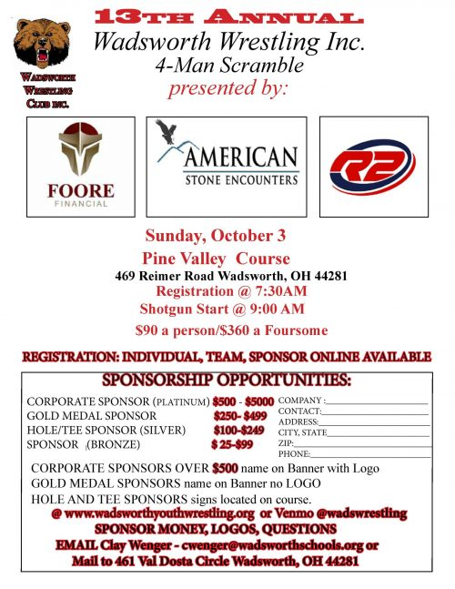 2021 Youth wrestling golf outing flier-1-page-001